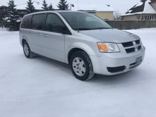 Used 2009 Dodge Grand Caravan SE One Owner, Accident Free History! Bluetooth, StowN'Go for sale in Winnipeg, MB