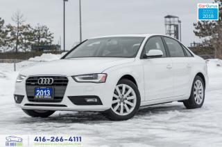 Used 2013 Audi A4 2.0T Quattro AWD A-8 Certified New Tires & Brakes for sale in Bolton, ON
