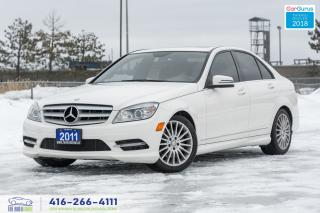 Used 2011 Mercedes-Benz C-Class C250 4MATIC AWD NO ACCIDENTS CERTIFIED SERVICED for sale in Bolton, ON