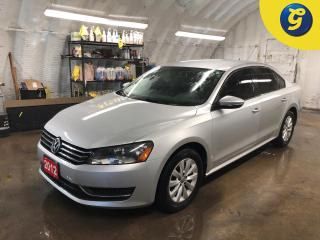 Used 2012 Volkswagen Passat Trendline Plus * Remote start * Heated front seats/mirrors * Phone connect * Voice recognition * Alloys * Hands free steering wheel controls *  Keyles for sale in Cambridge, ON