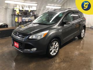 Used 2015 Ford Escape Titanium * 4WD * Navigation * Panoramic Sunroof * Leather interior * Remote start * Reverse camera * Heated front seats * Heated mirrors * Power tailg for sale in Cambridge, ON