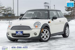 Used 2012 MINI Cooper M-6 Leather/Roof No Accidents Serviced Certified for sale in Bolton, ON