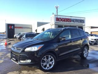 Used 2015 Ford Escape TITANIUM - NAVI - PANO ROOF - REVERSE CAM for sale in Oakville, ON