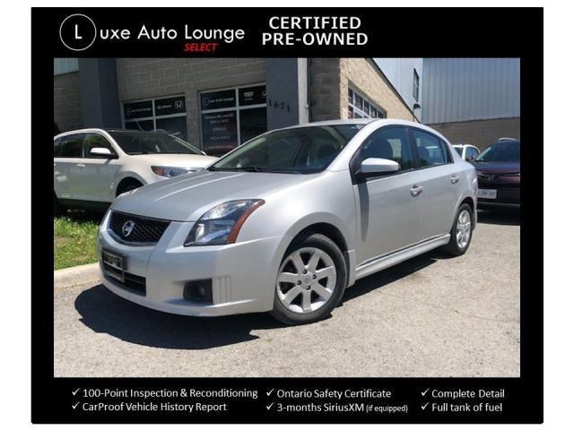 2012 Nissan Sentra 2.0 SR - EXT. WAR. UNTIL JAN-2021 OR 115,000KM!