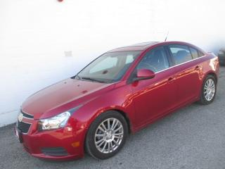 Used 2011 Chevrolet Cruze Eco w/1SA for sale in Waterloo, ON