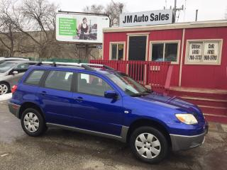 Used 2006 Mitsubishi Outlander LS for sale in Toronto, ON