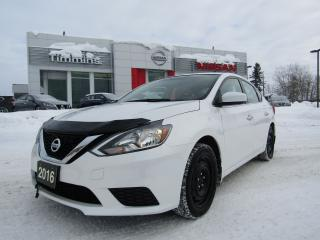 Used 2016 Nissan Sentra SV for sale in Timmins, ON