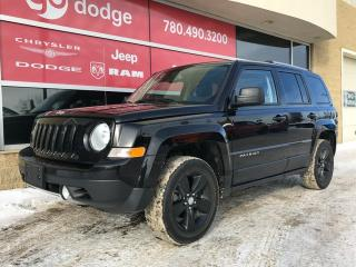 Used 2016 Jeep Patriot HIGH ALTITUDE LEATHER ROOF HEATED SEATS for sale in Edmonton, AB
