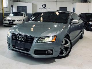 Used 2010 Audi A5 S-LINE|6 SPEED|NAV|REAR CAM|ACCIDENT FREE|LOADED| for sale in Oakville, ON