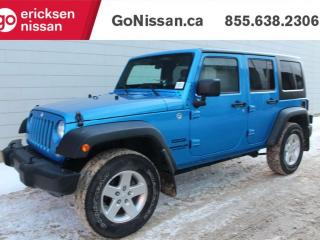 Used 2015 Jeep Wrangler Unlimited Sport 4dr 4WD Sport Utility for sale in Edmonton, AB