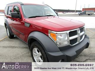 Used 2007 Dodge Nitro SXT - 3.7L - 6 SPEED for sale in Woodbridge, ON
