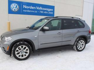 Used 2013 BMW X5 35i AWD - PANORAMIC SUNROOF / NAVIGATION / LEATHER for sale in Edmonton, AB
