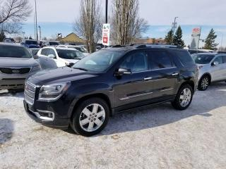 Used 2015 GMC Acadia DENALI; 7 PASS, BLUETOOTH, CRUISE CONTROL, BACKUP CAM, HEATED SEATS AND MORE for sale in Edmonton, AB