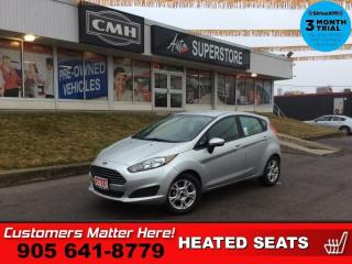 Used 2015 Ford Fiesta SE  HEATED SEATS BLUETOOTH ALLOYS PWR-GROUP for sale in St. Catharines, ON