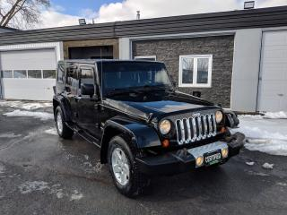 Used 2008 Jeep Wrangler Sahara for sale in Cornwall, ON