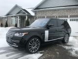 Photo of Black 2016 Land Rover Range Rover