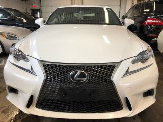 Used 2016 Lexus IS 300 RED LEATHER, HEATED AND VENT SEATS, ALLOYS for sale in Mississauga, ON