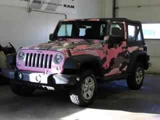 Used 2014 Jeep Wrangler Sport *WRAP CAN BE REMOVED* for sale in Halifax, NS