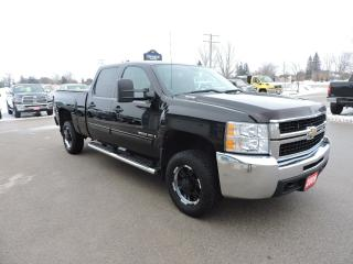 Used 2009 Chevrolet Silverado 2500 LT. Crew. 4X4. Seats 6. Loaded for sale in Gorrie, ON