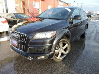 Used 2015 Audi Q7 3.0L TDI Vorsprung Edition for sale in BRAMPTON, ON