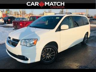 Used 2017 Dodge Grand Caravan SXT PREMIUM PLUS / LEAATHER/ DVD / NAV for sale in Cambridge, ON