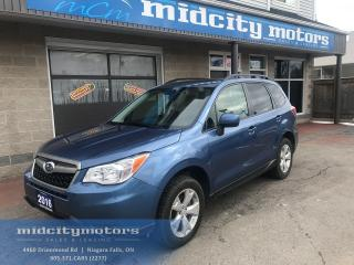 Used 2016 Subaru Forester 2.5i Touring/ AWD/ Cam/ Heated seats/ Sunroof for sale in Niagara Falls, ON