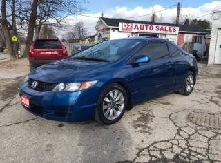Used 2010 Honda Civic EX-L/Automatic/Certified/Leather/Roof/Heated Seats for sale in Scarborough, ON