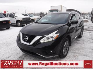 Used 2016 Nissan MURANO SL 4D UTILITY AWD 3.5L for sale in Calgary, AB