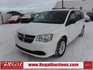 Used 2017 Dodge Grand Caravan SXT Wagon 7PASS 3.6L for sale in Calgary, AB