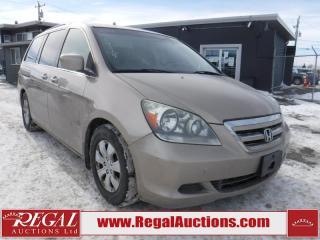 Used 2006 Honda Odyssey WAGON for sale in Calgary, AB