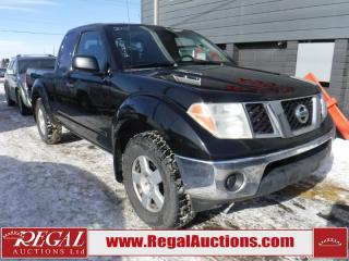 Used 2005 Nissan Frontier SE 4D King CAB 4WD for sale in Calgary, AB