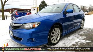 Used 2011 Subaru Impreza 2.5i w/Limited|LOW KM|NO ACCIDENT|LEATHER|SUNROOF for sale in Oakville, ON