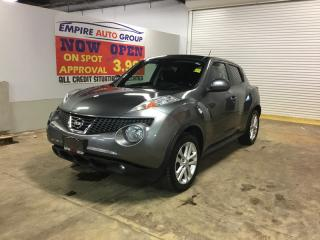 Used 2014 Nissan Juke BACK-UP CAMERA*BLUETOOTH*HEATED Seats - Driver AND PASS*LEATHER*NAVI* for sale in London, ON
