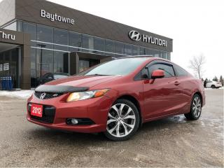 Used 2012 Honda Civic Coupe Si-VSA Navi 6sp for sale in Barrie, ON