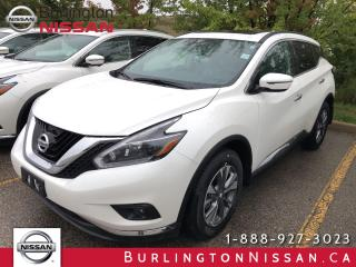 New 2018 Nissan Murano SV for sale in Burlington, ON