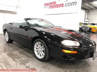 Used 2001 Chevrolet Camaro SOLD SOLD SOLD Z28 SS Convertible for sale in St. George Brant, ON