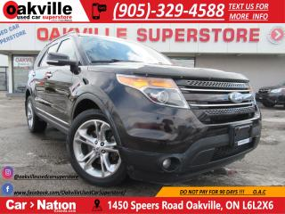 Used 2013 Ford Explorer LIMITED | BACK UP CAM | NAVI | 7 SEATS | HTD SEATS for sale in Oakville, ON