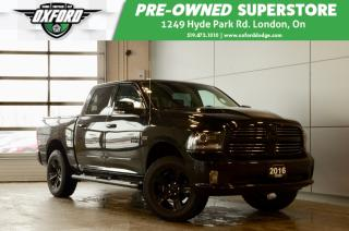 Used 2016 RAM 1500 Sport -  one owner, 20' all terrain tires, upgrade for sale in London, ON