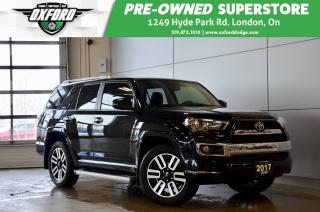 Used 2017 Toyota 4Runner Limited - one owner, clean carfax, low kms for sale in London, ON