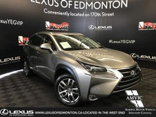 Used 2016 Lexus NX 200t Luxury Package for sale in Edmonton, AB