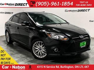 Used 2014 Ford Focus Titanium| LOCAL TRADE| LEATHER| SUNROOF| NAVI| for sale in Burlington, ON