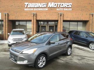 Used 2014 Ford Escape NAVIGATION |NO ACCIDENT| LEATHER | SUNROOF | AWD for sale in Mississauga, ON