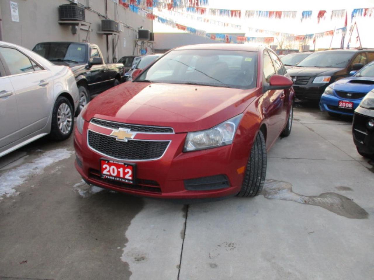 2012 Chevrolet Cruze 2LT