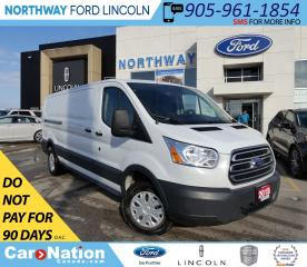 Used 2018 Ford Transit 250 | BACKUP CAM & SENSORS | VINYL FLOOR | for sale in Brantford, ON