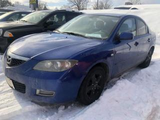 Used 2007 Mazda MAZDA3 GX*Air climatisé for sale in Québec, QC