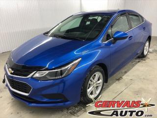 Used 2017 Chevrolet Cruze Lt Mags Bluetooth for sale in Shawinigan, QC