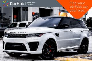 Used 2018 Land Rover Range Rover Sport SVR|MeridianSound|AmbientLight|PanoSunroof for sale in Thornhill, ON