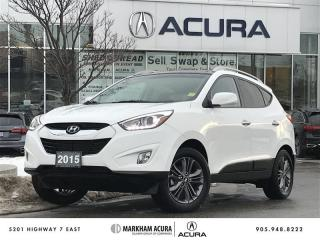 Used 2015 Hyundai Tucson GLS FWD at Panoramic Roof, Backup Cam, Heated Seats for sale in Markham, ON