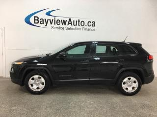 Used 2015 Jeep Cherokee Sport - U-CONNECT! A/C! CRUISE! PWR GROUP! for sale in Belleville, ON