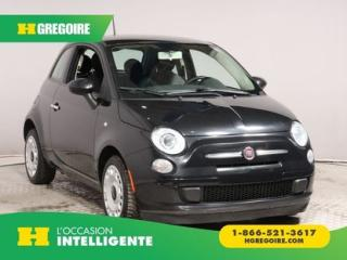 Used 2013 Fiat 500 Pop for sale in St-Léonard, QC